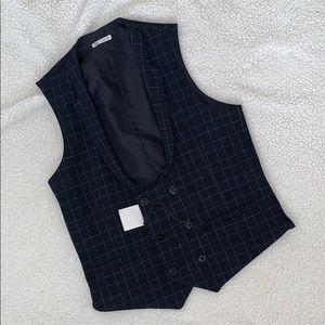 Zara Navy Blue Vest